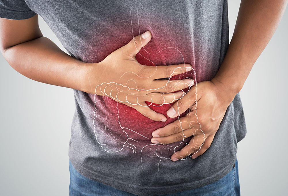 pain in the pancreas - stock image (3)